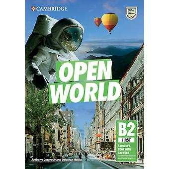 Open World First Students Book with Answers with Online Practice by Cosgrove & AnthonyHobbs & Deborah