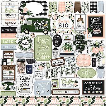 Echo Park Coffee & Friends Element Sticker