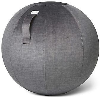 Vluv Varm Samt-Sitzball Durchmesser 70-75 cm Anthracite