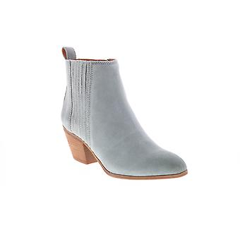 Frye & Co. Jacy Chelsea  Womens Gray Suede Ankle & Booties Boots