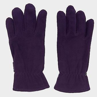 Peter Storm Women's Thinsulate Double Fleece Gloves Purple