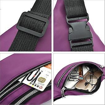 New Women Waterproof Waist Bags Ladies Fashion Travel Crossbody Chest Unisex