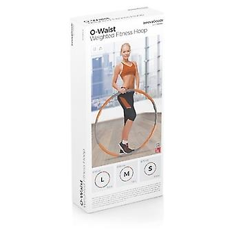 InnovaGoods O waist Removable Fitness Hoop Foam covered