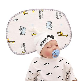 Baby Pillow For Newborn Prevent Flat Head With Extra Washable Pillow Case