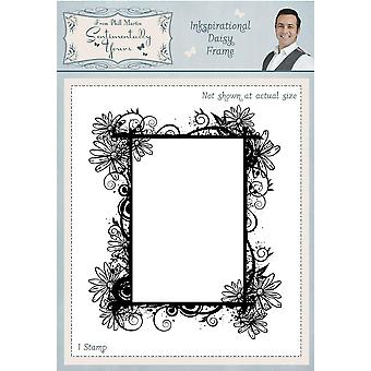 Sentimentally Yours Inkspirational Daisy Frame Pre Cut Stamp