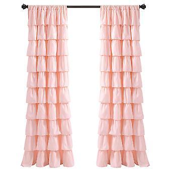 Rüschen Fenster Vorhang Panels Blush Single 50X84