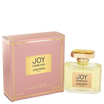 Alegria para sempre Eau De Parfum Spray por Jean Patou 2,5 oz Eau De Parfum Spray