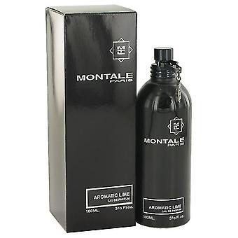 モンターレ 3.3 オンス オー ・ デ ・ パルファム スプレーでモンターレ芳香族ライム オードパルファム スプレー