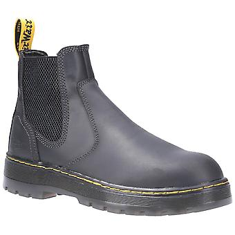 Dr martens eaves sb elasticated safety boots womens