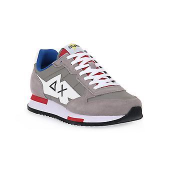 Sun68 34 niki solid grey sneakers fashion