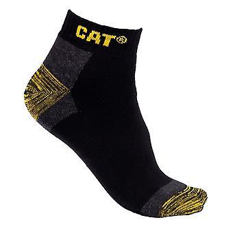 CAT Workwear Herren Premium 3 Pack Paar Trainer Arbeit Socken