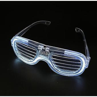 Žalúzie KTV bar svietiace okuliare Party LED studené svetlo okuliare toy