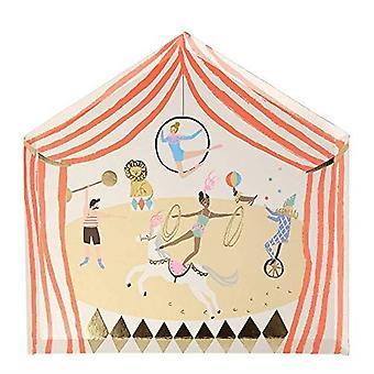Meri Meri Circus Parade Paper Party Plates x 8