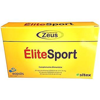 Suplementos Zeus Elite Sport 60 Capsulas