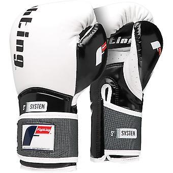 Kampf Sport S2 Gel Power Bag Boxhandschuhe - weiß/schwarz