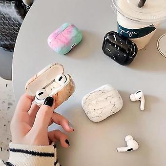 Airpods Pro värikäs marmori iskunkestävä kotelon kansi