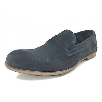 Мужская обувь Davidson Мокасина Перфорированная Cam Blue Vesuvius Artisan Us15dv05