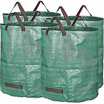 Wokex 4X Gartensack 272l aus robustem Polypropylen-Gewebe (PP) 150gsm