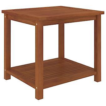 vidaXL الجانب الجدول أكاسيا الخشب الصلبة 45 × 45 × 45 سم