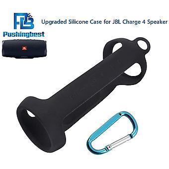 FengChun (NEU) Silikon hülle Schlinge Tasche für JBL Charge 4 tragbarer wasserdichter drahtloser