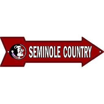 Florida state seminoles NCAA seminole land pil tecken