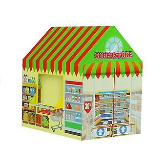 Speelent supermarket 93 cm x 103 cm x 69 cm – Foldable