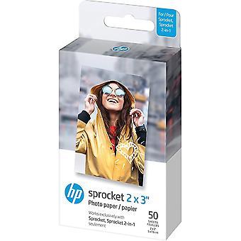 """2x3 """"Premium Zink Fotopapier (50 Blatt), kompatibel mit tragbarem Kettenrad-Fotodrucker"""""""