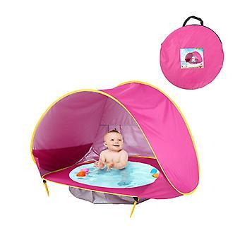 Baby Beach Teltta Kannettava Varjoallas UV Protection Aurinkosuoja Vauvojen Ulkona Lasten Uima-allas Peli Talo Teltta Lelut