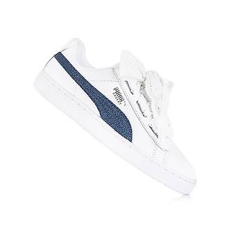 Puma Basket Heart Denim 36783501 universal all year women shoes