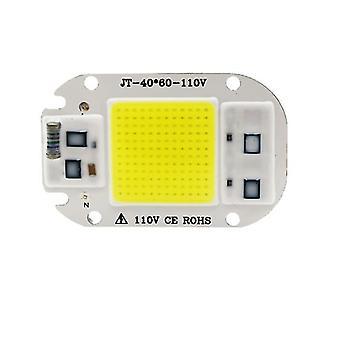 2個50w 110v白220v / 110v LEDライトコブチップ、50w / 30w / 20w LEDランプビーズaz7480