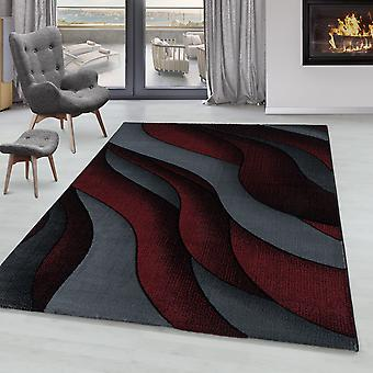 Woonkamer Tapijt RICA Korte Stapel Soft Flor Design 3-D Golven