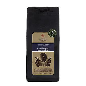 The East India Company - Red Dragon, Mocha Java Roasted Arabica Coffee Beans 250g