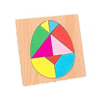 Eiförmige holz Puzzle Spiel dt7541