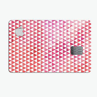 50 Shades Of Pink Micro Triangles - Premium Protective Decal Skin-kit