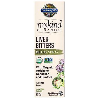 Jardin de vie myKind Organics Foie Bitters Spray, 2 Oz