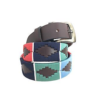 Carlos Díaz cinturón de cuero marrón awo14117