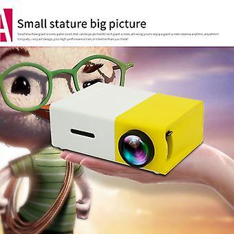 Lcd Mini projektor Hd 1080p Rozlišení Ultra Přenosné Domácí Kino