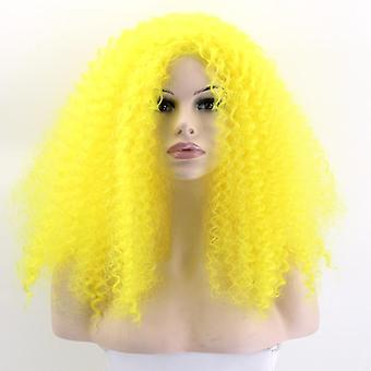 Long Small Curls Cosplay Wig