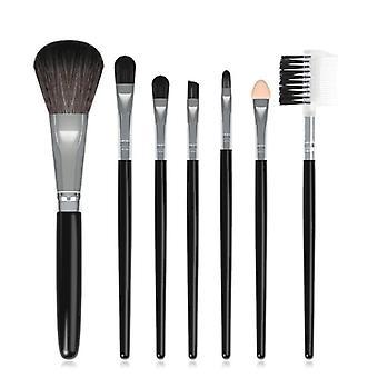 Meikkiharja harjakset kaltevuus meikki harjas pakkaus aloittelijoille meikki