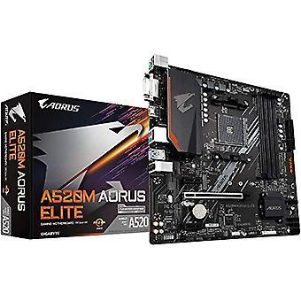 Aorus A520M AORUS ELITE (Socket AM4/A520/DDR4/S-ATA 600/Micro ATX)