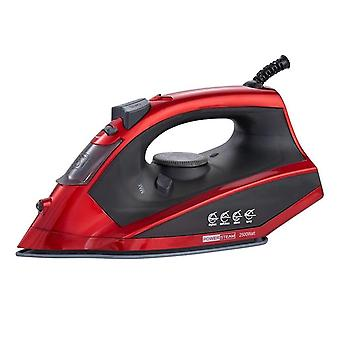 2500W electric steam iron for travel home garment steam generator clothes ironing steamer coated plate eu plug