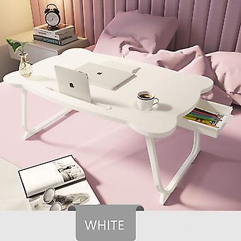 multi-funksjonell bærbar skrivebord folding laptop stativ holder studie bordbord tre sammenleggbar datamaskin skrivebord