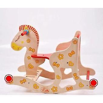 Holz Schaukelpferd - Spielzeug für Kleinkinder