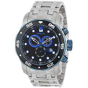 Invicta  Pro Diver 80042  Stainless Steel Chronograph  Watch