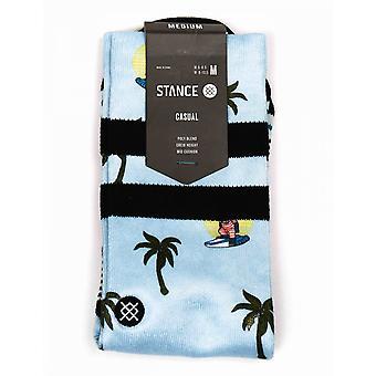 Stance Socks Aloha Monkey Socks - Blue