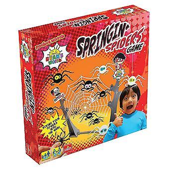 Tile games ryan's world springing spiders game