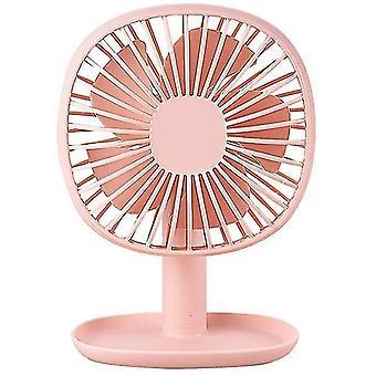 Haeger-bureau ventilator kleine tafelventilator oplaadbare batterij bediende mini ventilator 60 graden rotatie draagbaar