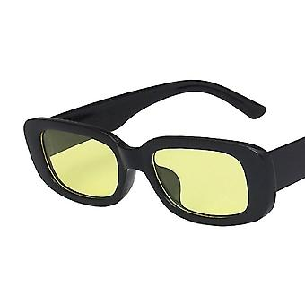 Rectangle Sunglasses Women Vintage Brand