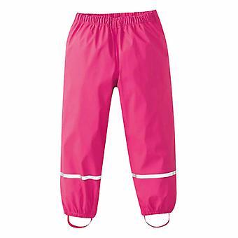 Childrens Kids Rain Dungarees Mud Trousers Waterproof Breathable