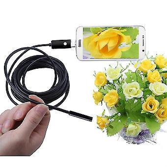8.0mm 5m Endoszkóp USB vízálló boroszkóp ellenőrző kamera Android-026